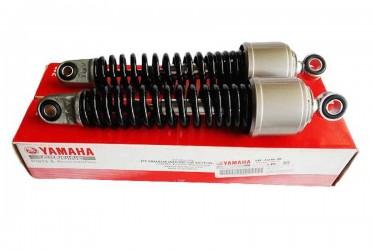 Yamaha Genuine Parts 5TP-F2210-00 Rear Twin Shockbreaker Hitam
