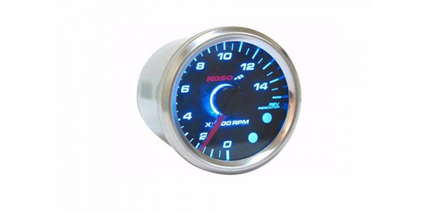 D48 GP Style Speedometer Tachometer 0