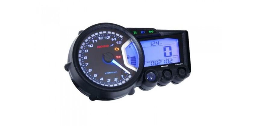 KOSO Digital LCD Meter RX2+ 0