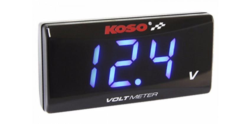 Koso Speedometer Voltmeter 0