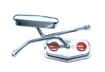 Chel's Custom Retro Mata Kucing 24785 Spion Standar Silver