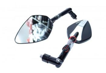 Barracuda Skin XN Indicator B-Lux Spion Standar Hitam