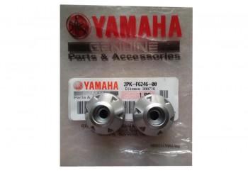 Yamaha Genuine Parts 2PK-F6246-00 Jalu Stang Silver