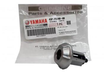 Yamaha Genuine Parts 45P-F620B-00 Jalu Stang Silver