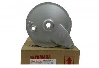 Yamaha Genuine Part & Accessories 5BP-F5321-01-35 Tromol Belakang Abu-abu Tutup Tromol