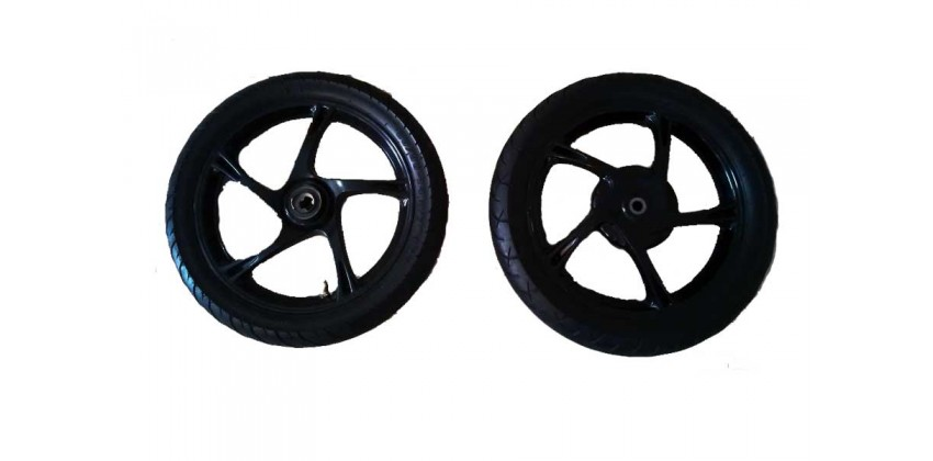 Yamaha Genuine Parts 2PH-F5338-01-33 Velg Depan Hitam 0