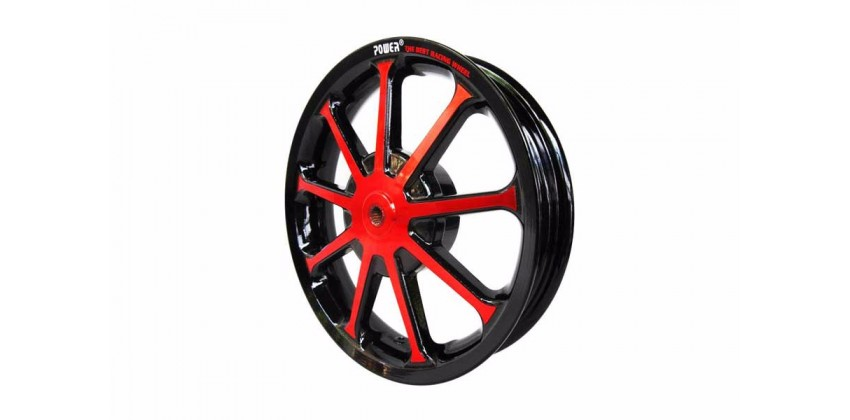 Power Sun Velg Racing Merah 2.50 0