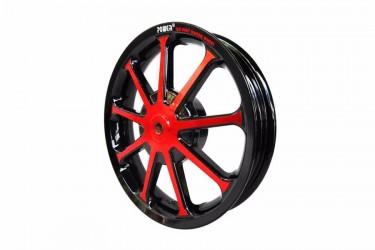 Power Sun Velg Racing Merah 2.50