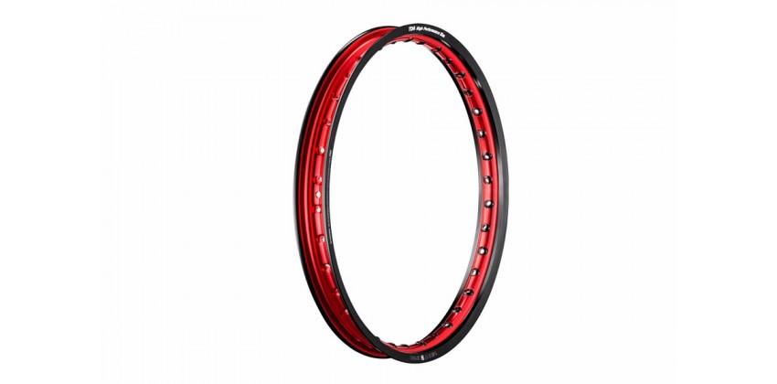 Two Tone Velg Jari-jari Ring 17 Ukuran 1.60 0