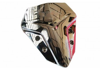 Yamaha Genuine Parts B63F61AAM2BC Visor Coklat Chrome