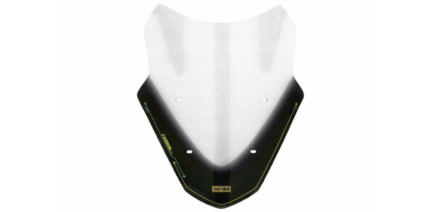 Vector Windshield & Visor Windshield Carbon 0