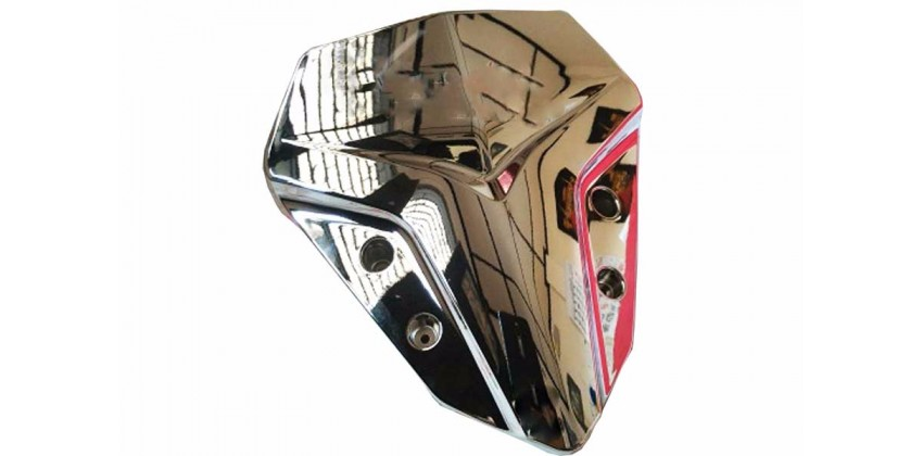 Windshield & Visor Visor Chrome 0