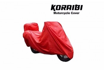 Cover Motor  Untuk semua jenis motor dengan box belakang atas dan samping kiri-kanan