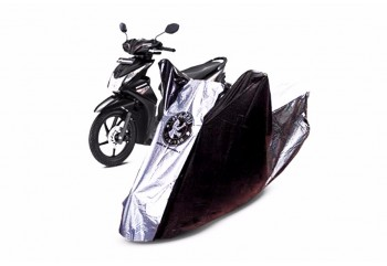 Urban Small Cover Motor Bebek Hitam