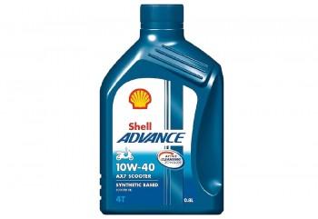 Shell Advance 4TAX7SC Oli Mesin 10W-40 800 ml