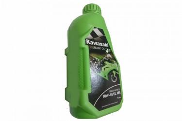 Kawasaki Genuine Oil SL MA 4T Oli Mesin 10W-40 1000 ml Semi Synthetic