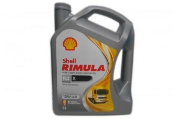 Shell Helix Rimula R4X Solar Diesel - 5 Liter Original Oli Mesin