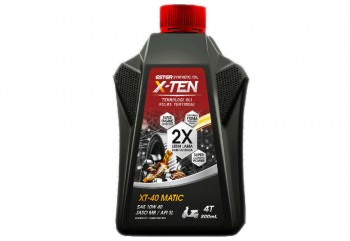 X-ten XT-40 MATIC Oli Mesin 10W-40 800 ml