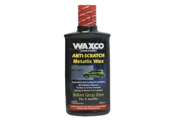 Waxco Anti Scratch Metallic Wax Cairan Poles 200ml