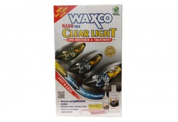 Waxco Clear Light Lens Restorer & Treatment Cairan Pembersih 150ml