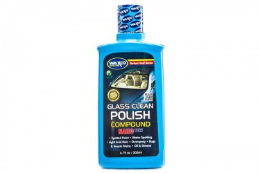 Waxco Glass Cleaner Polish Cairan Pembersih 200ml