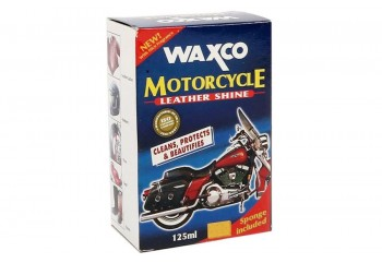 Waxco Motorcycle Leather Shine Cairan Pembersih 125 ml
