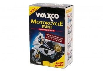 Waxco Motorcycle Paint New Polish Cairan Pembersih 125 ml