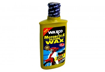 Waxco Motorcycle Silicon 2 in 1 Cairan Poles 200ml