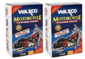 WAXCO Motorcycle Leather Shine  C73-WX-125-MS Cairan Poles Buy 1 Get 1