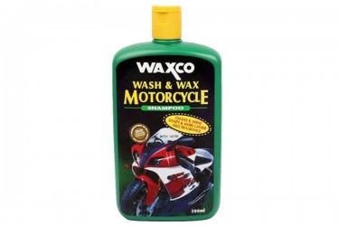 Waxco Wash & Wax Motorcycle Shampo Motor 500 ml