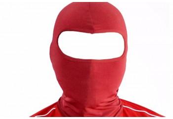 Ninja Balaclava Hitam, Merah