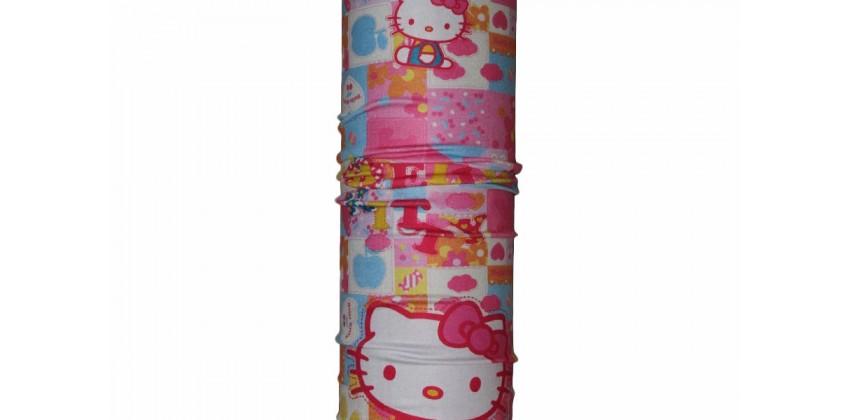 CK 1407011 Buff Merah Muda Motif Hello Kitty 0