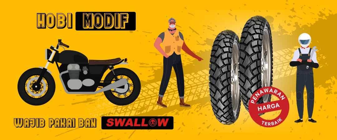 Promo Ban Swallow - Hobi Modif Pakai Ban Swallow! - Moladin