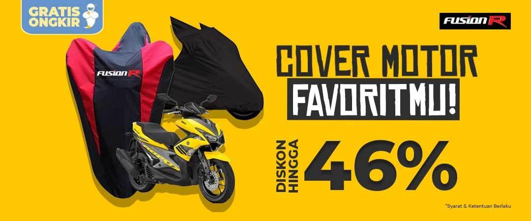 Cover Motor Anti Air Diskon - Belanja Perlengkapan Motor Disini!