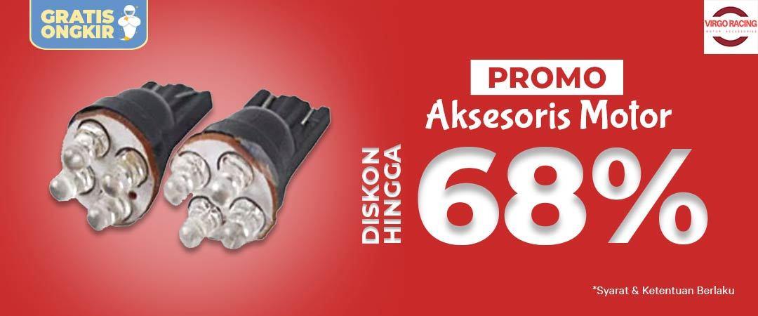 Promo Aksesoris Motor Diskon Hingga 68% - Free Ongkir!