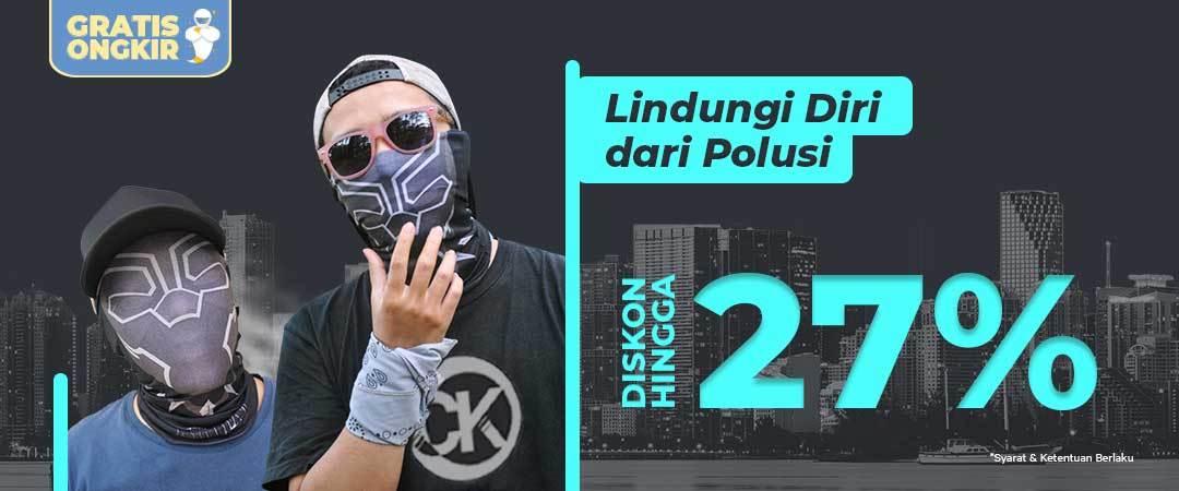 Promo CK Bandana Lindungi Dirimu Dari Bahaya Polusi - Diskon Hingga 27% dan Gratis Ongkir!