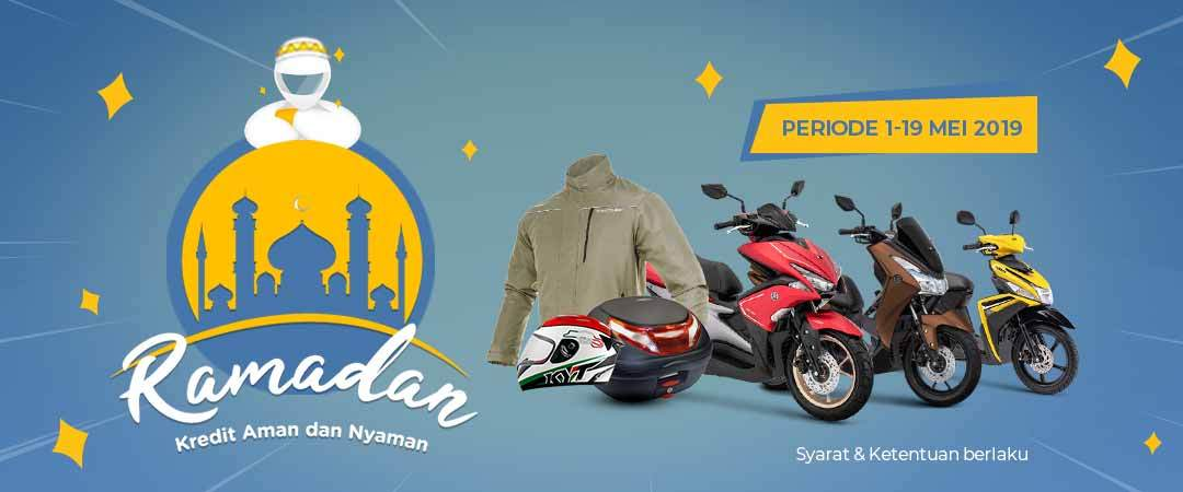 Promo Ramadan - Kredit Aman dan Nyaman - Diskon Motor, Sparepart, Apparel,  dan Perawatan