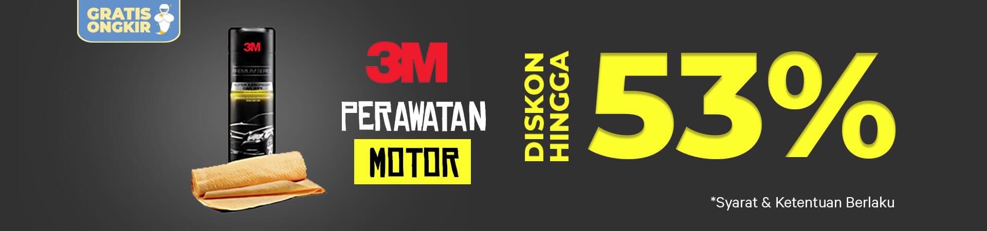 Promo Sampo Motor 3M - Diskon Hingga 53% - Free Ongkir-
