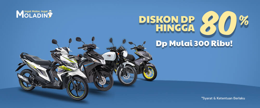 Promo Spektakuler Kredit Motor Yamaha, Honda, Suzuki, Kawasaki, KTM  Murah