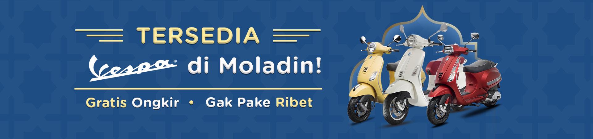 Tersedia Vespa di Moladin