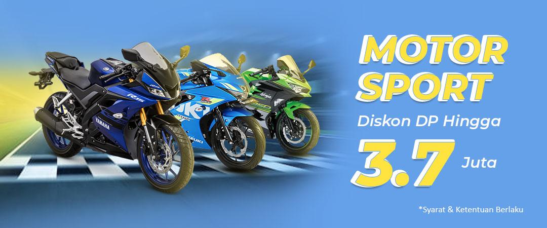 Diskon DP Motor Sport - Hingga 3,7 Juta