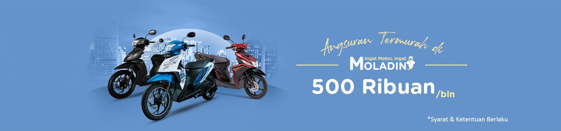 Promo Angsuran Termurah - Cuma 500 Ribuan Sebulan!