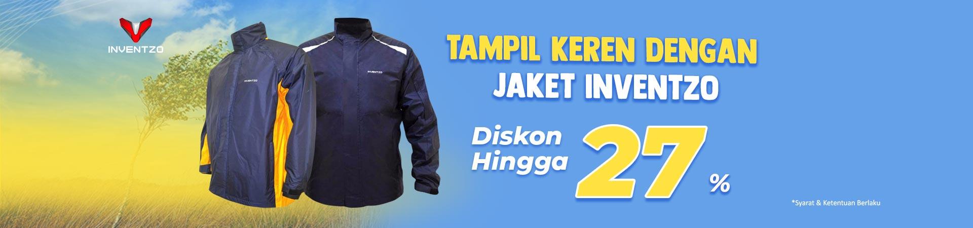 Promo Diskon Inventzo Jaket Fair