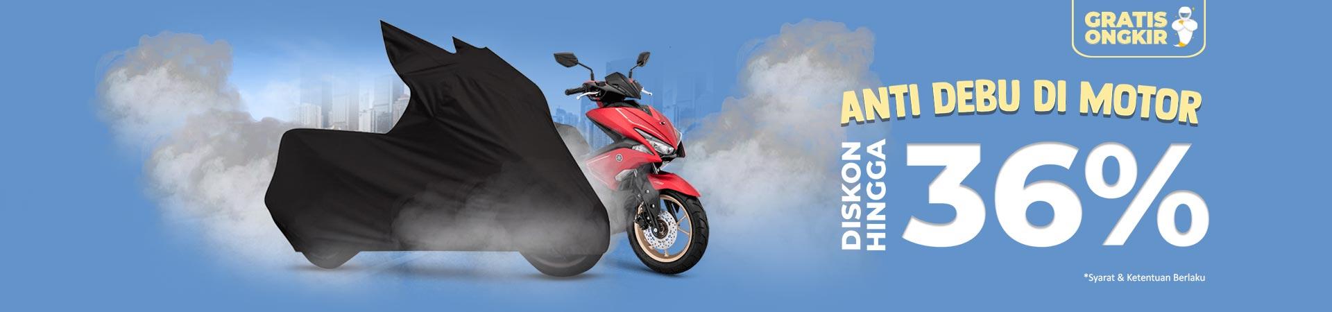 Diskon Cover Motor - Anti Debu di Motor