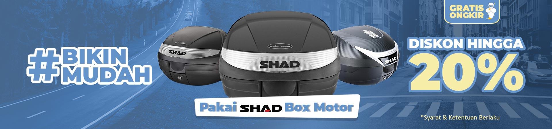 Diskon Box Motor Shad - Up To 20%