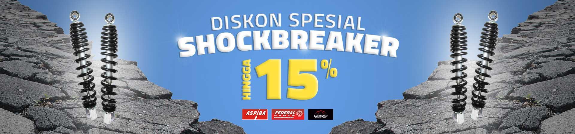Shockbreaker Deals! Diskon Hingga 20 Persen