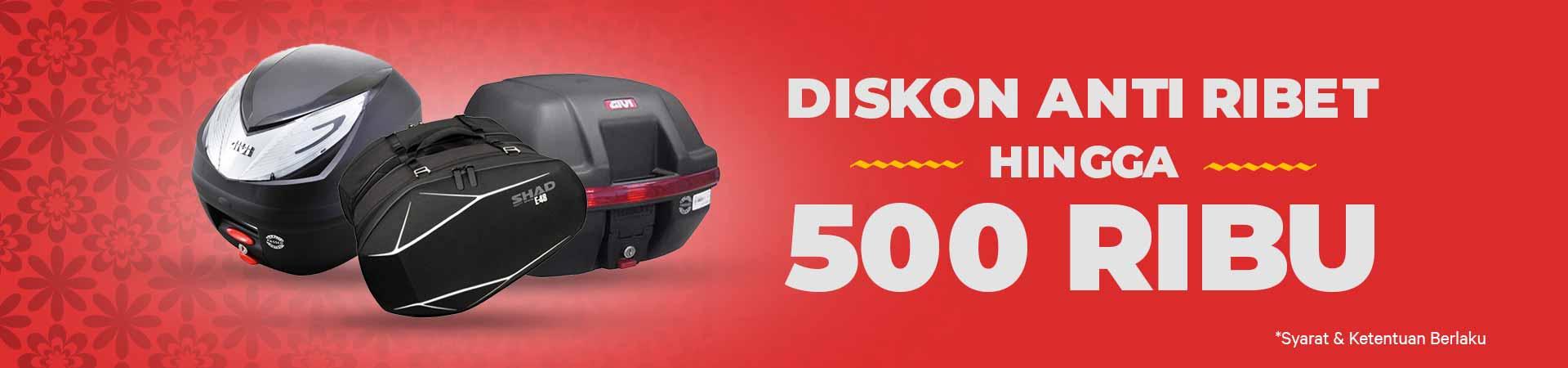 Promo Box Motor - Anti Ribet Pakai Box Motor Baru Dari Moladdin