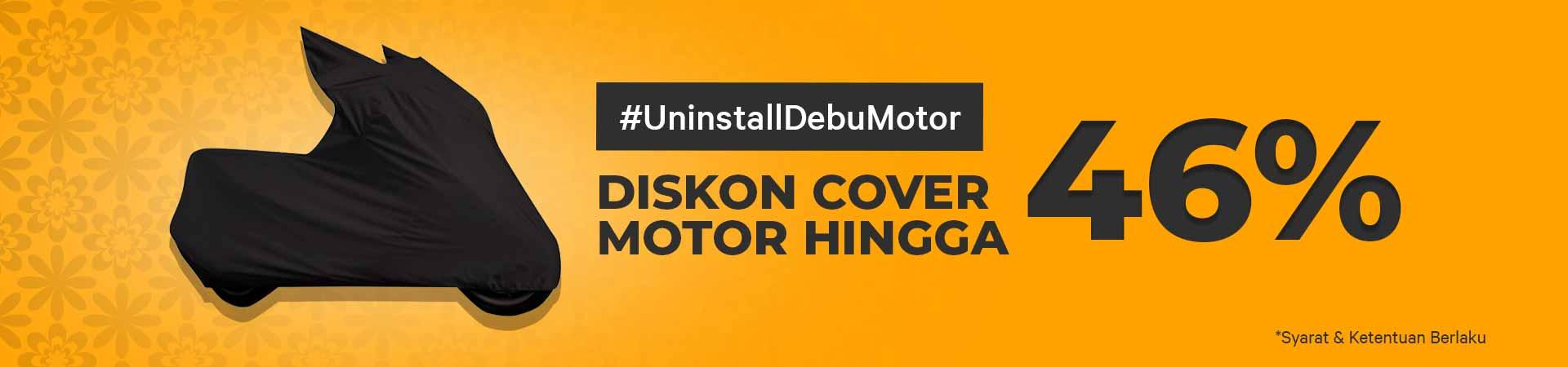 Promo Cover Motor - Uninstall Debu Motor, Diskon Sampai Dengan 46% - Gratis Ongkir!